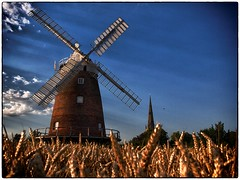 Thaxted Windmill (PhilnCaz) Tags: holiday history windmill fun corn scenic historic nik picturesque processed hdr highdynamicrange e5 summerholiday thaxted tonemapped niksoftware olympuse5 silverefex philncaz summerholiday2013 thaxtedvillage thaxtedtown