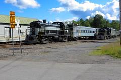 ADIX 8223-705-1508 Thendara (ironmike9) Tags: railroad train rail railway adirondacks locomotive passenger sw1 switcher alco f7 adix adirondackscenicrailroad rs3 thendarany adirondackscenicrr
