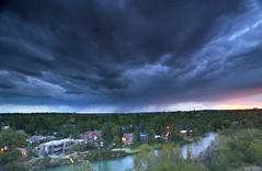 approaching rain (John Andersen (JPAndersen images)) Tags: sunset calgary nd 1740mm elbowriver leefilter canon6d 15ndhardgrad