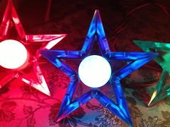 blue ge d14 (JeffCarter629) Tags: glow ge c9 d14 vintagechristmas glowstar vintagechristmaslights gechristmaslights generalelectricchristmaslights glostar