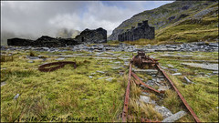 Ghost Town (Explored) (angeladj1) Tags: abandoned slate barracks quarry dereliction northwales cwmorthin