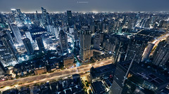 /   main artery (blackstation) Tags: china road street city travel weather skyline architecture clouds canon buildings shanghai cloudy viaduct highways cbd     inspiring overcastsky skyscraping   overcastweather