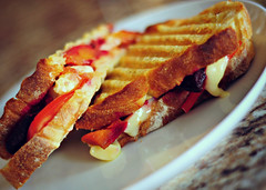 root vegetable and cheese panini (beesquare) Tags: cooking healthy rich sandwich health squash vegetarian beets panini sweetpotatoes healthyfood comfortfood healthyeating healthycooking rootvegetables flavourful plantbased