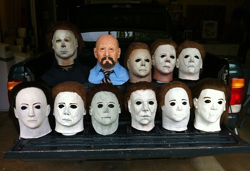 Myers Masks by John R. Pleak