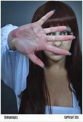 Ins II (igeorgakoudis) Tags: portrait woman female studio weird pentax cosina femme voigtlander creepy portraiture manualfocus nokton voigtlnder studioportrait femaleportrait studioflash womanportrait primelenses pcca fixedfocallength candicemack manuallenses pentaxart pentaxk5 georgakoudis wwwgeorgakoudisnet louisnolween