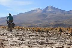 Climbing above Quetena