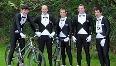 The UA boys in their morph suits. Photo courtesy of Karen Carruth, The Scottish Farmer
