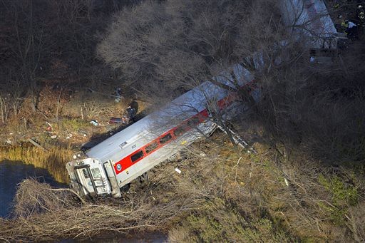 NYC Train Derailment