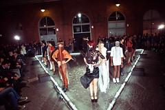 "Fashion show ""Triangle walks"""