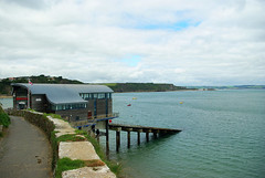 D9043.  New Lifeboat Station at Tenby. (Ron Fisher) Tags: southwales wales westwales cymru tenby