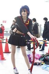 C85 Cosplayer's (Ariake, Tokyo, Japan) (ryuichi692011) Tags: girls portrait girl person women cosplay   odaiba daiba  ariake   bigsite  comicmarket comike       c85 cosplayed 85 comicmarket85