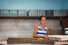 Egg Shop. (Robin Thom) Tags: women havana cuba vieja shops eggs