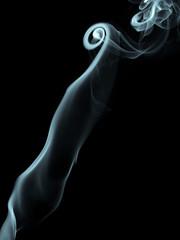 Smoke Plume (wwarby) Tags: slr blackbackground pattern smoke olympus indoors digitalcamera e3 zuiko digitalslr incense colourised zuikodigital 1260mm olympuse3