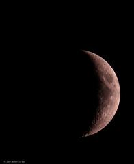 Waxing Crescent Moon (DonMiller_ToGo) Tags: nightphotography moon astrophotography lunar gf1 waxingcrescent fav5 views100
