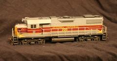 Algoma Central 205 (cbnsfan) Tags: railroad train model central algoma gp38 entral
