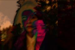 Delirium (Blankpulp) Tags: portrait woman selfportrait me colors collage photo forrest psycho montage bones inversion delirium conceptual trippy psychedelic psyche