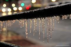 SHPchallenge Liquid IMG_8868a (Julie Kramer) Tags: neworleans frenchquarter handrail liquid icicles carlights canalstreet shpchallenge