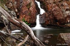 The Grampians, Victoria, Australia (Kristian Brudenell) Tags: waterfall australia grampians victoria falls slowshutter thegrampians vision:outdoor=0952