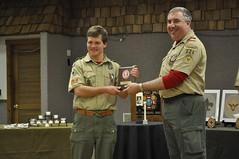 COH Feb 2014  086 (Howard TJ) Tags: camping boy court honor coh scouts merit uniforms awards badges troop scouting bsa 826