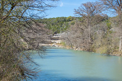 Guadalupe River - Guadalupe River State Park - Comal County - Texas - 18 March 2014 (goatlockerguns) Tags: park county usa nature america river oak texas natural state south unitedstatesofamerica bald southern liveoak cypress guadalupe comal baldcypress