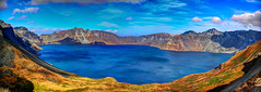 Tianchi lake @ Changbaishan, Jilin, China (smijh) Tags: china lake man nature volcano san asia heaven border north reserve biosphere korea unesco east mount korean national program changbaishan jilin vulcanic tianchi dongbei  paektu paekdu