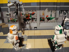 Forest On Fire (WG Productions) Tags: starwars lego scifi moc clonecommando deltasquad bossfixersevscorch