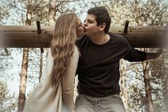 A sweet Kiss (GEHPhotos) Tags: portrait love woodland fun engagement kiss couple rob demi phototype denmead canoneos6d creechwood ef2470mmf28usmii