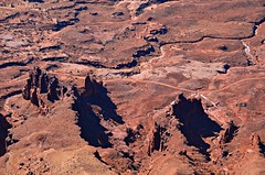 Canyonlands National Park  -from the Needles Overlook (George Reader DC) Tags: utah desert canyonlandsnationalpark moab canyons americanwest desertlandscapes theneedles
