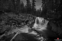 McKay Crossing Monochrome (Thncher Photography) Tags: longexposure bw nature monochrome oregon centraloregon river landscape outdoors blackwhite nikon northwest bend scenic rapids waterfalls d800 waterscape lapine newberrycrater mckaycrossingfalls nikond800 leebigstopper nikkorafs1635mmf4gedvr