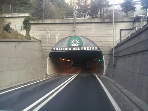 Tunel de Fréjus, la fin de mon tour du monde!