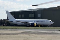 ZS-DJI (IndiaEcho) Tags: england canon eos airport aircraft aviation aeroplane civil dorset boeing bournemouth airfield boh hurn 767200 eghh aeronexus 1000d zsdji