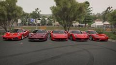 Ferrari (nikitin92) Tags: game screenshots vidoegame sportscar pc forzahorizon3 car racing ferrari 360 challenge stradale 430 scuderia 458 italia speciale 488 gtb