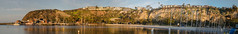 Morning Arrives at Dana Point (tquist24) Tags: california danapoint danapointharbor nikon nikond5300 pacificocean cliff geotagged harbor morning ocean panorama panoramic sky sunrise water unitedstates