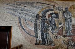 _DSC0037_cw (Wylf) Tags: soviet urss mozaika mosaic urbex cold war youri gagarine ussr hero urbexu history old