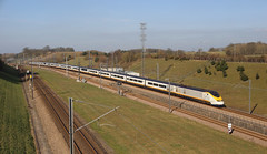 Spring is here (NIGHTSHIFTWORKER) Tags: 3103 3104 eurostar hs1 brussels st pancras