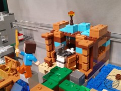 Toy Fair 2017 LEGO Minecraft 31 (IdleHandsBlog) Tags: minecraft toys videogames lego constructionsets toyfair2017