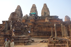 Cambodia - Angkor Phnom Bakheng (Alf Igel) Tags: phnombakheng angkor angkorthom siemreap cambodia kambotscha khmer sonnenuntergang sundown
