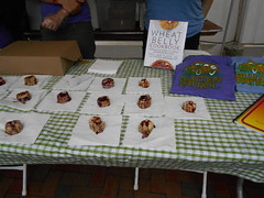 gluten-free biscuits (Joelk75) Tags: festival tn knoxville farmersmarket tennessee biscuits marketsquare internationalbiscuitfestival