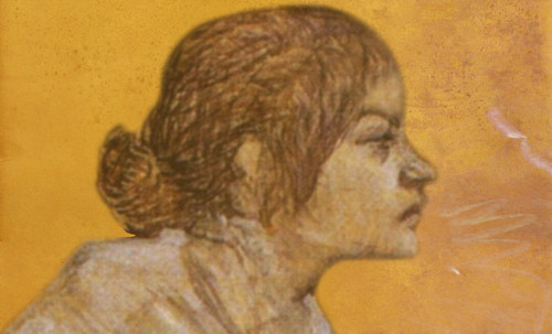 "Las Madeleines escuchando la soleada soledad, descripciones de Henri de Toulouse Lautrec (1889) y Pablo Picasso (1904). • <a style=""font-size:0.8em;"" href=""http://www.flickr.com/photos/30735181@N00/8805141025/"" target=""_blank"">View on Flickr</a>"