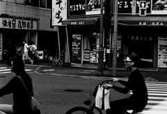 CR20605 17 (hiro.nk) Tags: blackandwhite bw white black film japan zeiss tokyo shinjuku kodak trix 85mm 400tx contax carl f28 sonnar rtsii plustek opticfilm 8200i