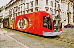 Corpo Santo (ernstkers) Tags: carris ccfl lissabon lisboa lisbon portugal tramvia tram tranvia trolley streetcar 509 ccfl509 lisbonne lightrail strasenbahn eléctrico bonde spårvagn