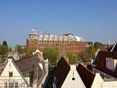 Scheepvaarthuis (jpmm) Tags: amsterdam architecture hotel bomen nederland amsterdamseschool daken 2013 stadsarchiefamsterdam johanmelchiorvandermey