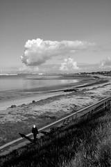 IMG_4771 (scalespeeder) Tags: sea blackandwhite beach clouds digital canon eos 350d rebel xt solent dslr gosport leeonsolent