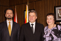 LSP Macedonian President (220) (Bruce MacRae) Tags: centre ottawa president arts macedonia reception national fraser lois macrae highlanders 78th siegel ivanov gjorge