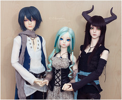 Token, Desideria, Kieran (Einwegherz) Tags: forest md doll king little body group sd monica bjd soom hybrid abjd ryu popo migi balljointed chalco yuria supia 68cm migidoll popodoll littlemonica
