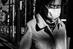 Tokyo [26] (Rinzi Ruiz [street zen]) Tags: life city travel portrait urban blackandwhite bw man japan japanese tokyo candid streetportrait streetphoto