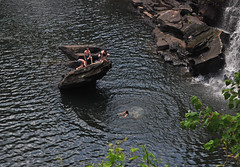 A Perfect Circle (BKHagar *Kim*) Tags: water kids swim river climb al jump rocks alabama falls waterfalls littlerivercanyon ftpayne gaylesville bkhagar
