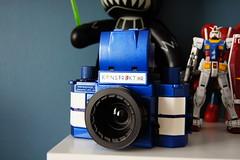Lomography Konstruktor - Shelby Cobra Edition (Cris Ward) Tags: camera blue slr toy diy lomo lomography model paint gear plastic kit cameraporn konstruktor lomographyuk