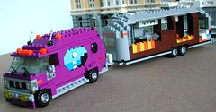 Airstream (RS 1990) Tags: travel holiday outside lego details retro elements inside trailer caravan rv airstream moc lrides markkujaaskelainen