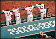 The Real Game (ioensis) Tags: baseball stadium july games miller 20 garcia dugout peterson busch footsie kozma jdl 2013 ioensis 00670334067tmf1c